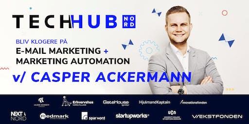 Kom og bliv klogere på E-mail marketing og marketing automation