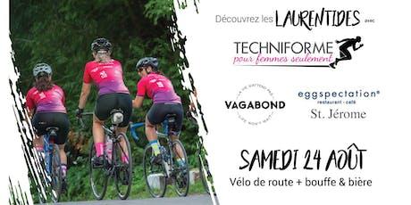 Découvrez les Laurentides avec Techniforme : édition vélo de route billets