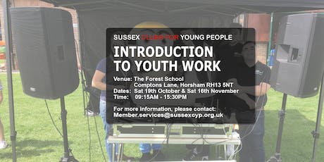 INTRODUCTION TO YOUTH WORK LEVEL 1 – TWO DAY COURSE tickets