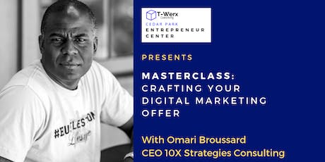 Digital Marketing Workshop: Crafting the Offer tickets