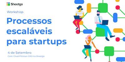 Processos escaláveis para startups - Impact Hub