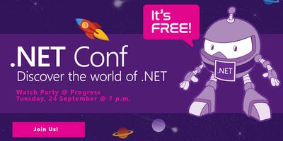 2019 .NET Conf Watch Party @ Progress