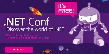 2019 .NET Conf Watch Party @ Progress tickets