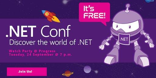 2019 .NET Conf Watch Party @ Progress