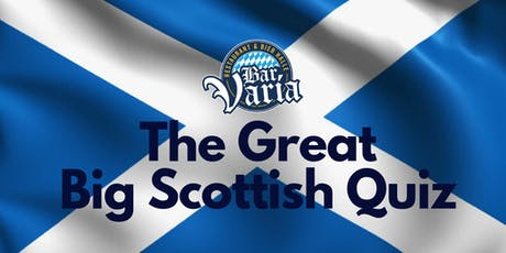 The Great Big Scottish Quiz tickets