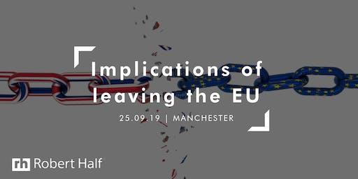 Implications of UK leaving the EU - GDPR