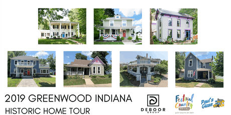 Greenwood Indiana Historic Home Tour tickets