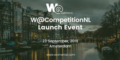 W@CompetitionNL Launch tickets