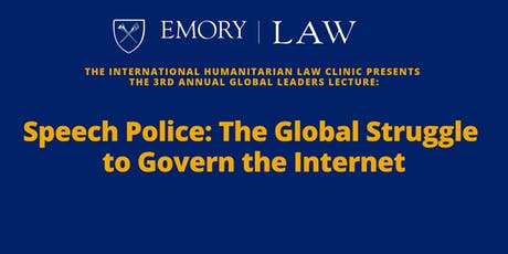 Speech Police: The Global Struggle to Govern the Internet tickets