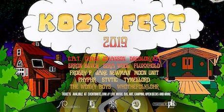 Kozy Fest 2019 tickets
