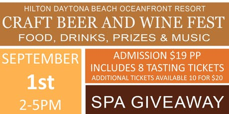 Craft Beer, Bourbon, Wine and Food Festival  tickets