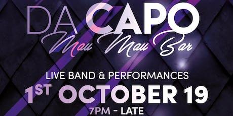 Da Capo acoustic showcase tickets