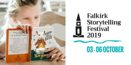 Burrow Into A Book at Caffe Nero ~ Falkirk Storytelling Festival 2019 tickets