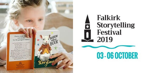 Burrow Into A Book at Caffe Nero ~ Falkirk Storytelling Festival 2019