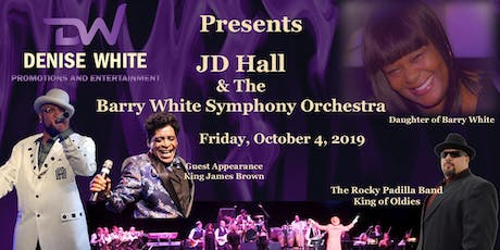 JD Hall & The Barry White Symphony Orchestra tickets
