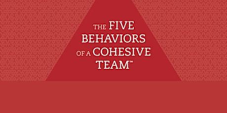 Building a Cohesive Team Workshop tickets