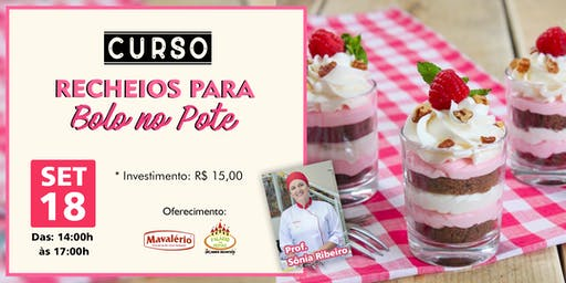 CURSO RECHEIOS PARA BOLO NO POTE