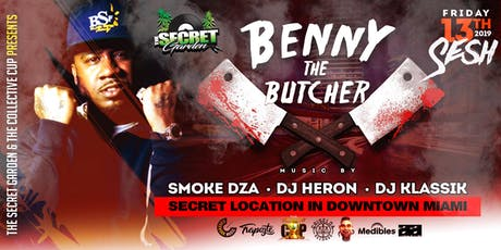 Benny The Butcher - Smoke Dza - Friday The 13th Sesh tickets