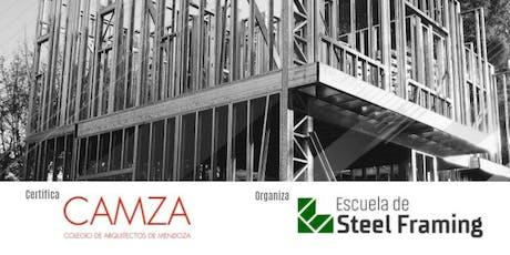 Curso Intensivo Steel Framing  - 10º Edición en Mendoza tickets