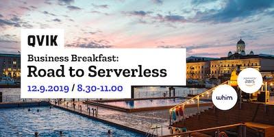 Business Breakfast: Road to Serverless