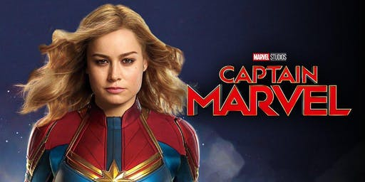 Movie Night in Carolina Wren Park - Captain Marvel