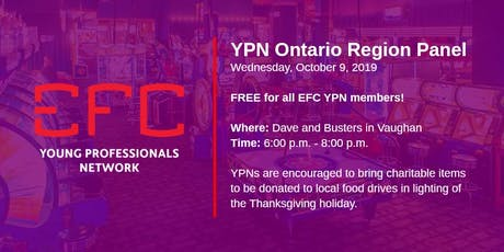 YPN Ontario Region Panel Discussion tickets