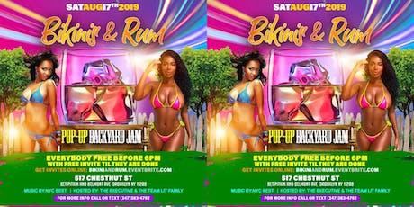 Copy of Bikini and Rum  tickets