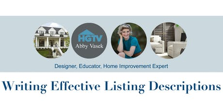Writing Effective Listing Descriptions - Colonial Banking Campus - Fort Worth tickets