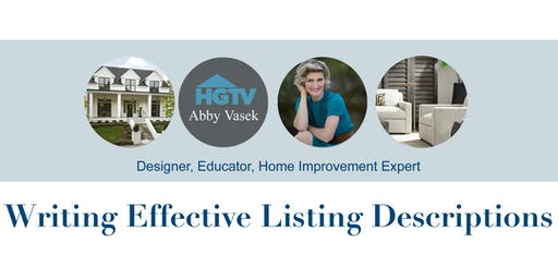 Writing Effective Listing Descriptions - Colonial Banking Campus - Fort Worth