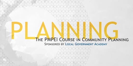 The PMPEI Course in Community Planning