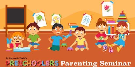 Dr Zam & Dr Zeela's Preschoolers Parenting Seminar September 2019 tickets