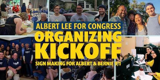 Sign Making for Albert & Bernie