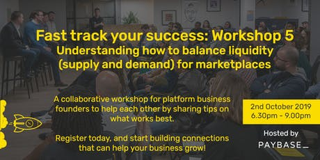 Marketplaces & Gig/Sharing Economy: Balancing Supply and Demand tickets