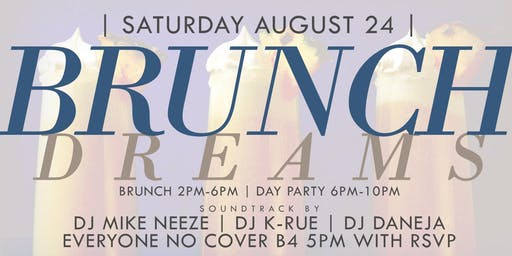 """CEO FRESH PRESENTS: """" BRUNCH DREAMS """" (BRUNCH & DAY PARTY) AT LE REVE NYC"""
