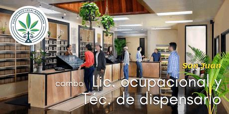 Combo: Lic. Ocupacional y Técnico Dispensario (San Juan) tickets