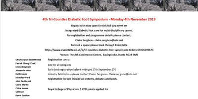 4th Tri Counties Diabetic Foot Symposium