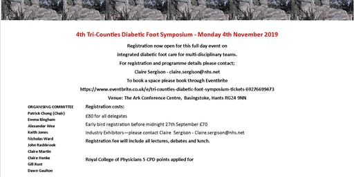 4th Tri Counties Diabetic Foot Symposium