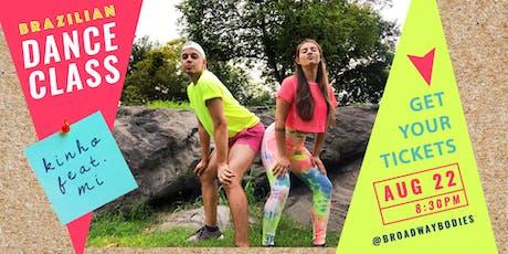 Brazilian Dance Class - Kinho feat. Mi tickets