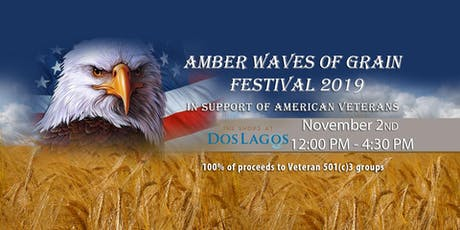AMBER WAVES OF GRAIN CRAFT BEER FESTIVAL FOR VETERANS 2019 tickets