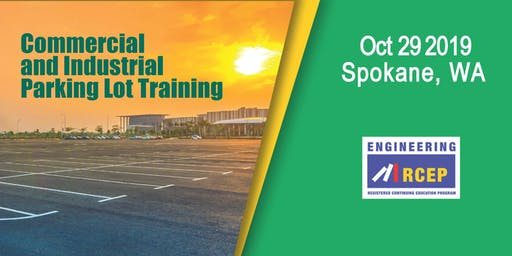 Commercial and Industrial Parking Lot Training - Spokane, WA