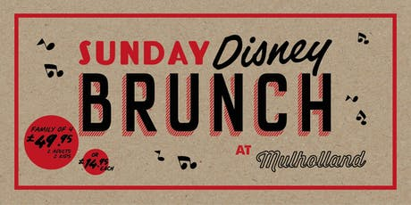 Disney Sunday Brunch tickets