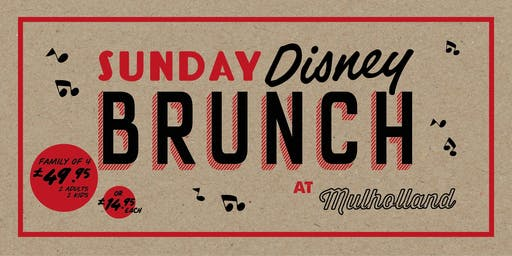 Disney Sunday Brunch