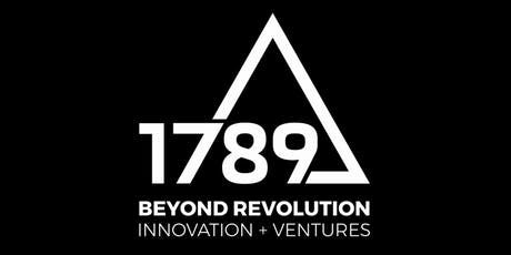 SAVE THE DATE // 1789 INNOVATIONS EVENT #4 tickets