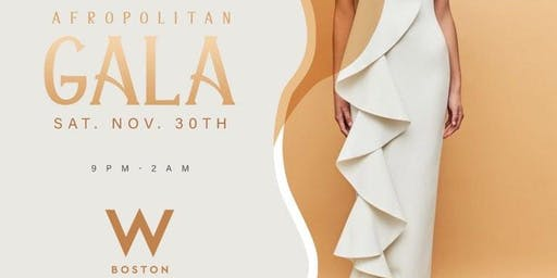 Afropolitan GALA 2019 | W BOSTON
