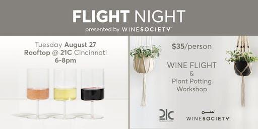 WineSociety Flight Night - Plant Potting Workshop