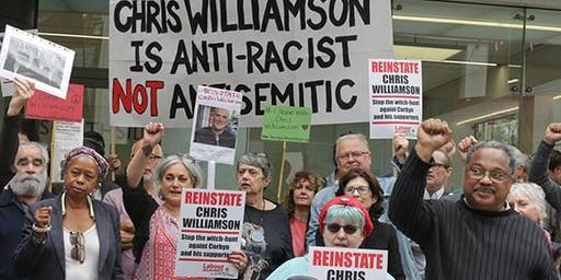 The South West welcomes Chris Williamson  Unity is Strength