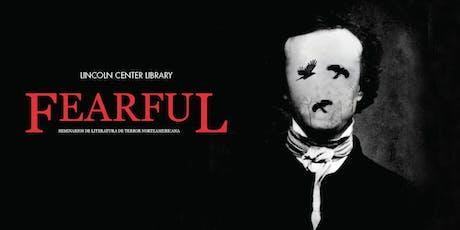 Fearful: Seminario de literatura de terror norteamericano entradas