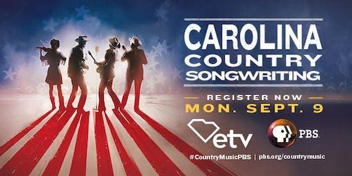 Carolina Country Songwriting