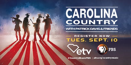 Carolina Country with Patrick Davis & Friends tickets