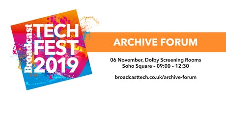 The Archive Forum 2019 tickets